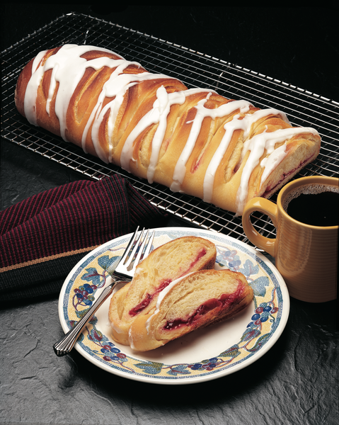 Cream Cheese French Braid Pastry