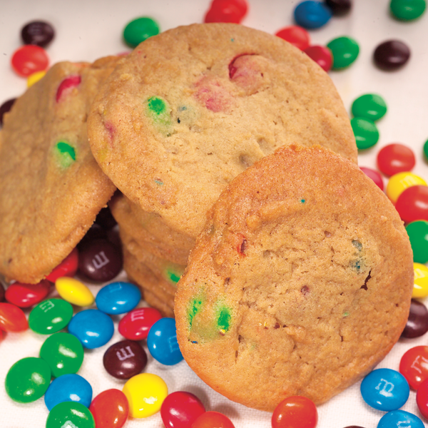 M&M Candy Cookie Dough*
