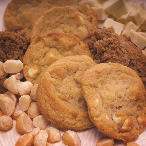 White Chocolate Macadamia Nut Cookie Dough*