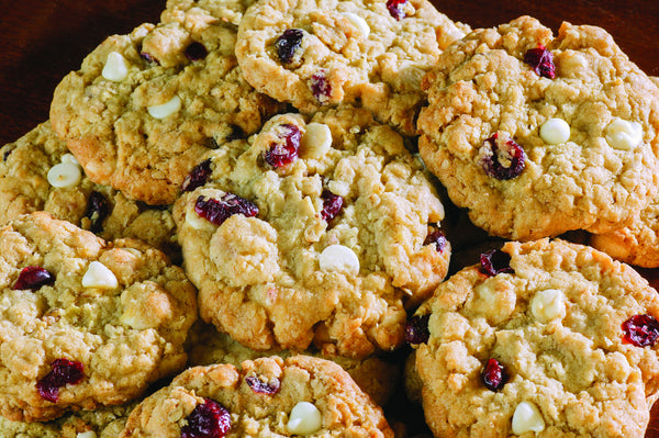 Cranberry White Chocolate Oatmeal Cookie Dough Curbside