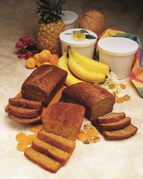Banana Nut Gourmet Bread and Muffin Batter