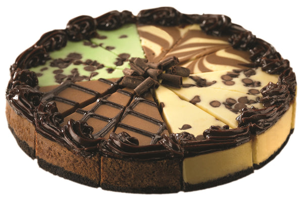 Chocolate 4 in 1 Cheesecake