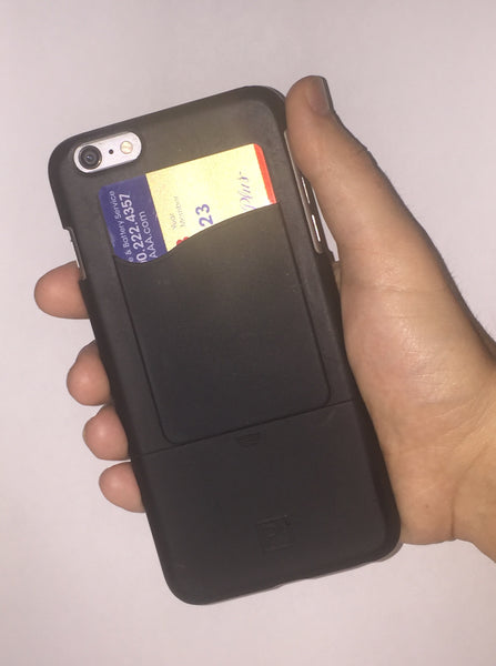 Phone Card Holder - Black