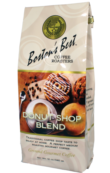 Boston's Best Donut Shop Blend Coffee