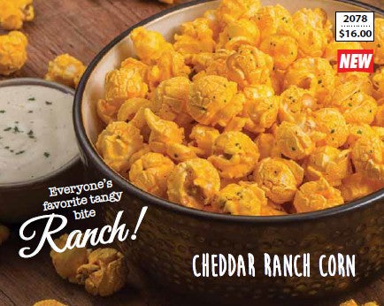 Cheddar Ranch Popcorn Ship to Home!