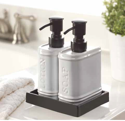 Book End Soap Dispenser