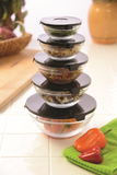 Space Saving Glass Nesting Bowls