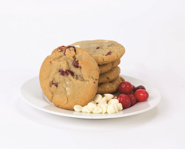 White Chocolate Cranberry Cookie Dough Tub
