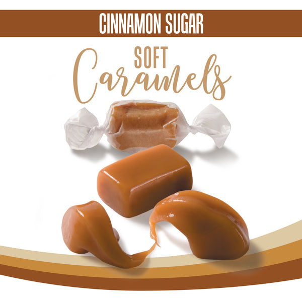 Cinnamon Sugar Soft Caramels