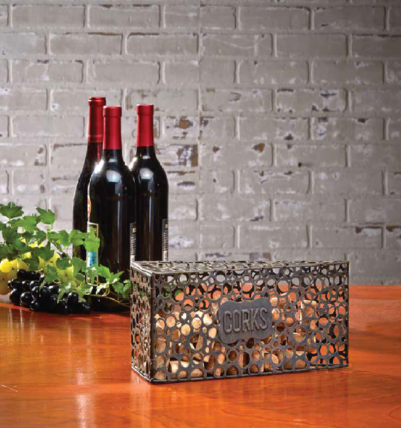 Cheese Wedge Cork Holder