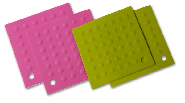 Silicone Hot Pads - Lime Green
