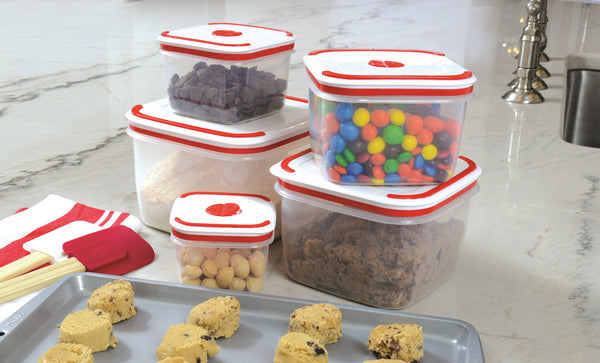 Microwave Storage Containers - Set of 5