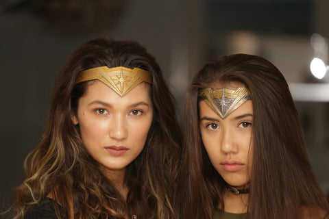 FULL DETAIL-Dawn Of Justice Inspired Tiara Crown Wonder Woman Smooth or Textured styles - Mud And Majesty