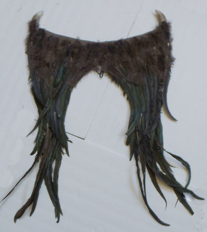 Young Maleficent Inspired Brown Wings child size custom order - Mud And Majesty