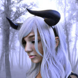 NEW ARRIVAL  Bull Matador horns headband 3D printed cosplay comicon fantasy horns   wow - Mud And Majesty
