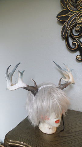 NEW ARRIVAL! Extra large Realistic Stag Hircine  horns/Deer Antlers Horns  3D Printed (Ultra Light Weight Plastic) Reindeer  comic-con - Mud And Majesty