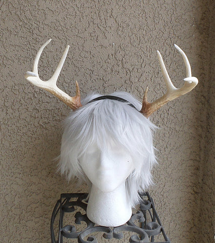 NEW ARRIVAL! Realistic Christmas Doe/Deer Antlers Horns  3D Printed (Ultra Light Weight Plastic) Reindeer Antlers comic-con - Mud And Majesty