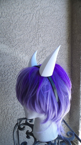 "Goat fantasy 3d printed mini horns Toriel, rpg game Undertale headband any color small 5"" - Mud And Majesty"
