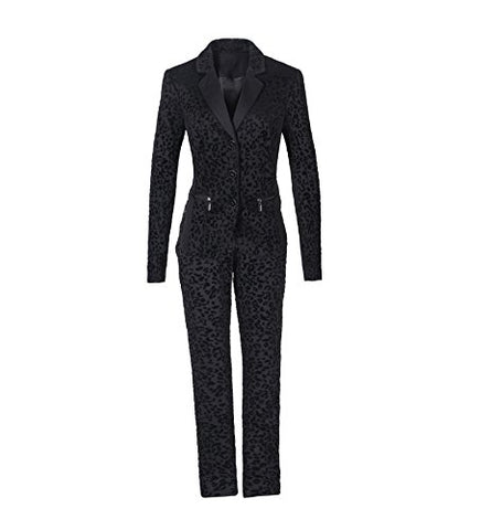 Women's 3 Button Jacket three Piece suit-Jacket-Skirt and Pant Suit Set