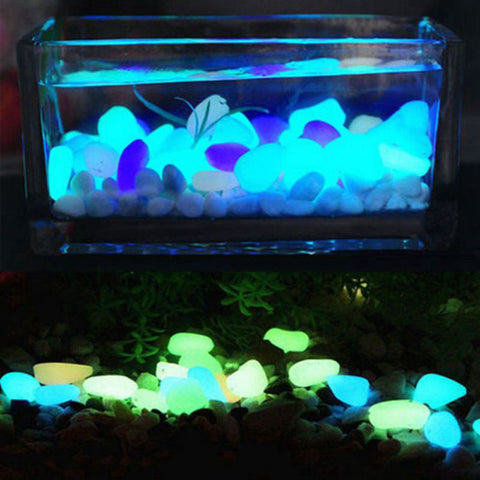 flaming stones glow in the dark luminous garden pebbles 100 - Glow In The Dark Garden Pebbles