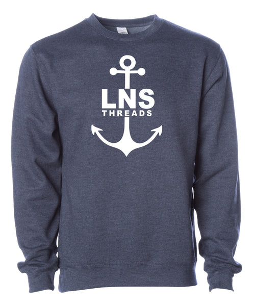 "Men's Heavyweight ""Anchor"" Crewneck"