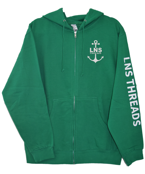Men's *Anchor* Zip-Up Hoodie