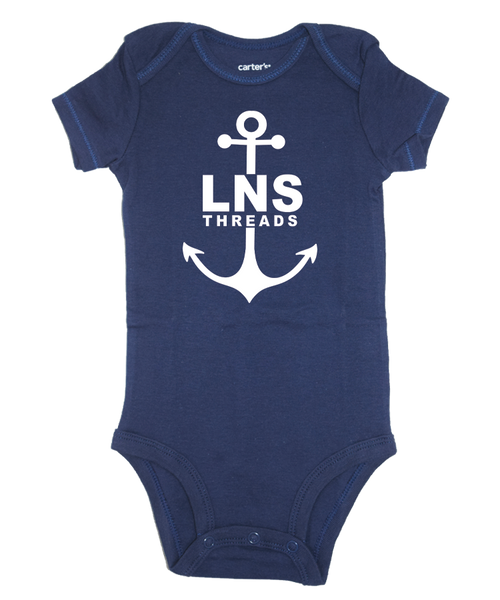 "Boy's ""Anchor"" Baby Onesie"
