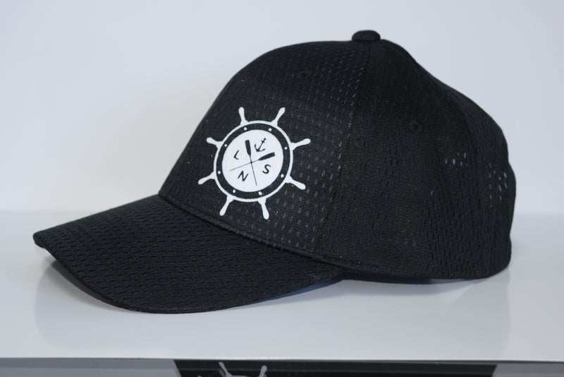 Youth *Ship's Wheel* Athletic Mesh Cap
