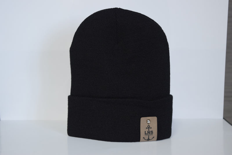 Cuffed Beanie w/Anchor Tag