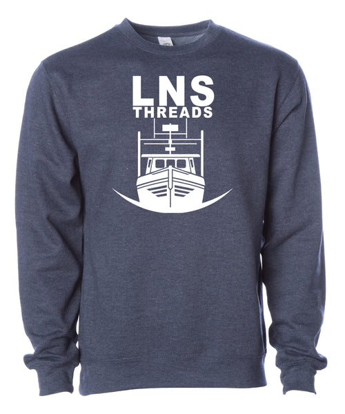 "Men's Heavyweight ""Longliner"" Crewneck"