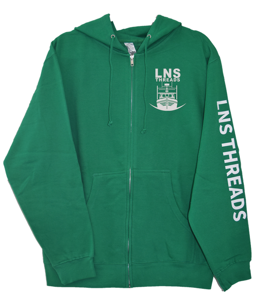 Men's *Longliner* Zip-Up Hoodie
