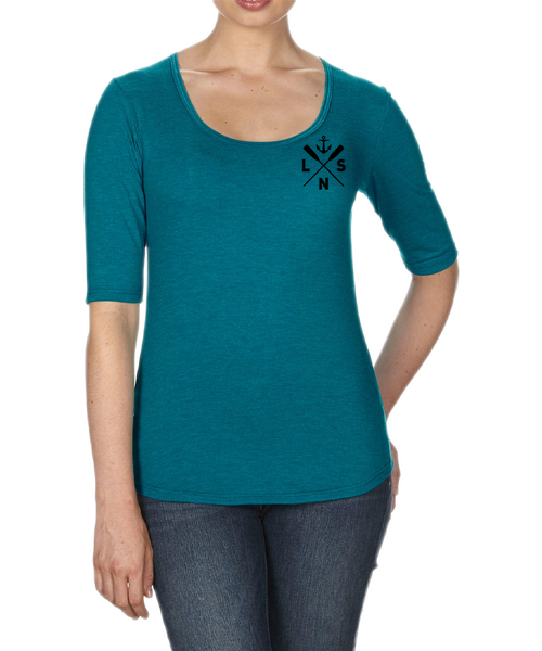 Women's *Boat Oars* Scoop Neck Tee