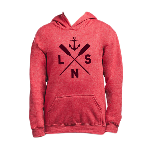 Youth *Boat Oars* Pullover Hoodie