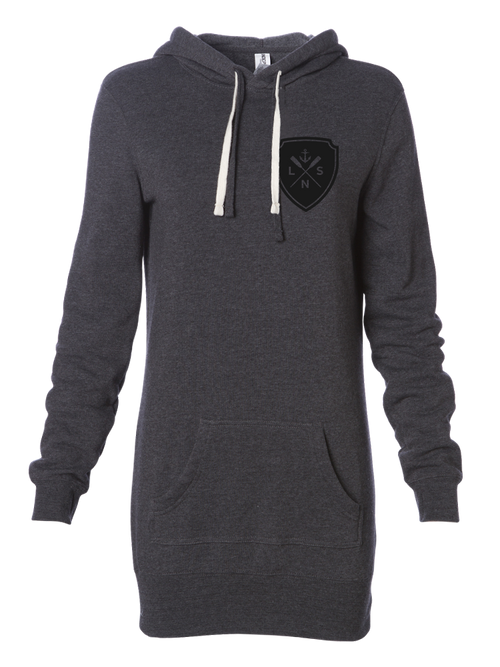 Women's *Shield* Hooded Pullover Dress