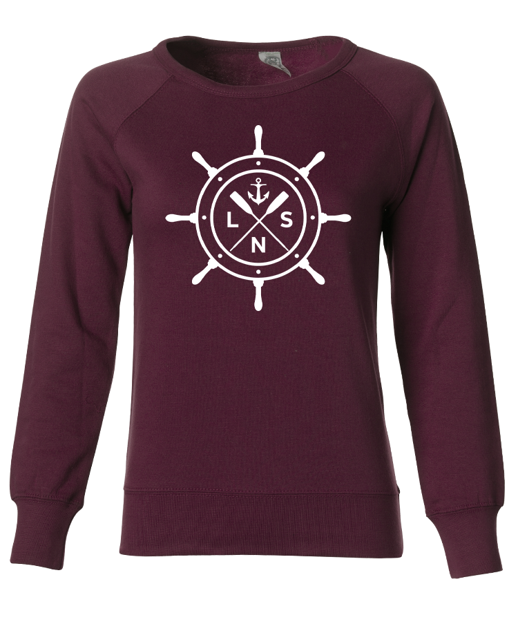 "Women's ""Ship's Wheel"" Crewneck"