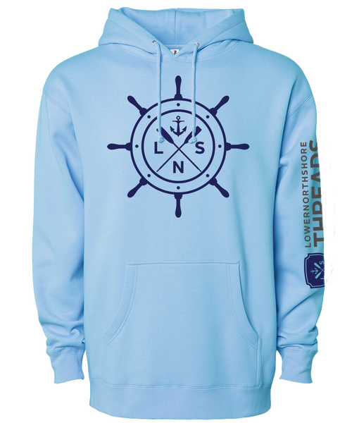 Unisex Heavyweight *Ship's Wheel* Hoodie