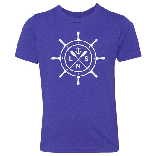 Youth *Ship's Wheel* Tee