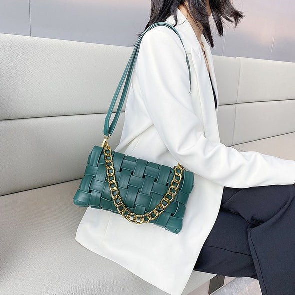Woven Square bag