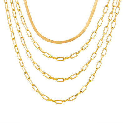 Four Layered Necklace