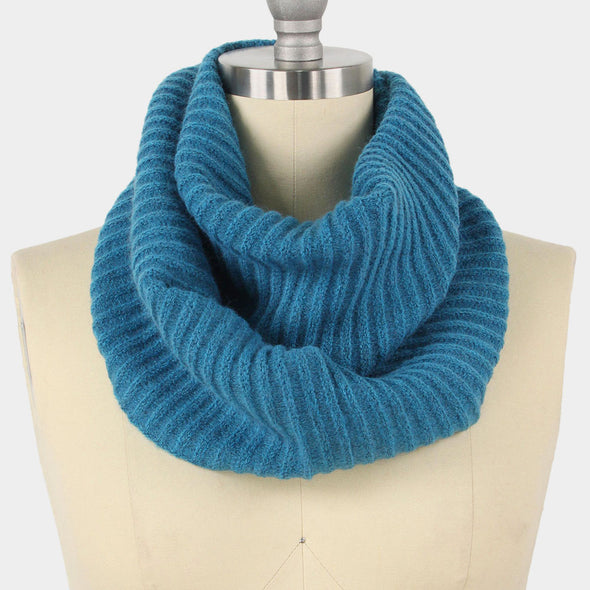 Cowl Neck Infinity Scarf
