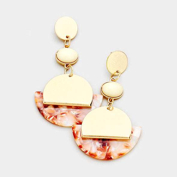 Celluliod Link Earring