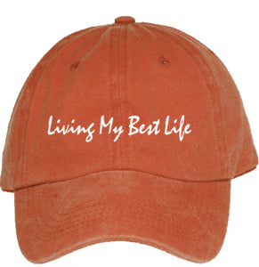 Live Your Best Life Dad Hat