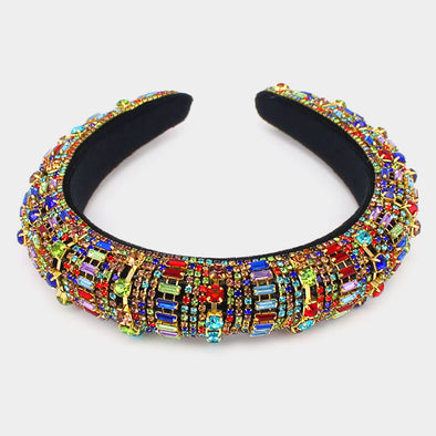 Colorful Stone Headband