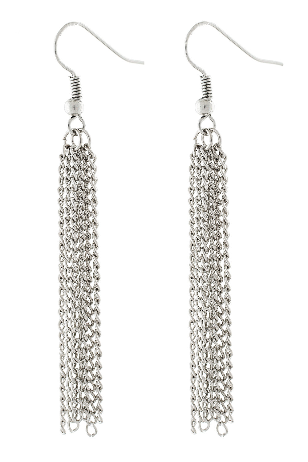 Type 2 Liquid Silver Earrings