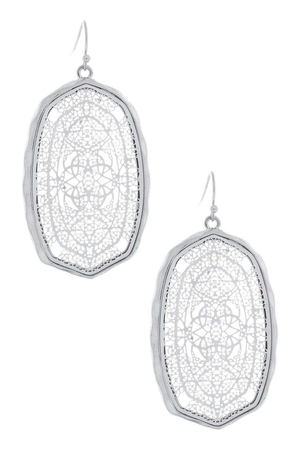 Type 2 Framed Lace Earrings