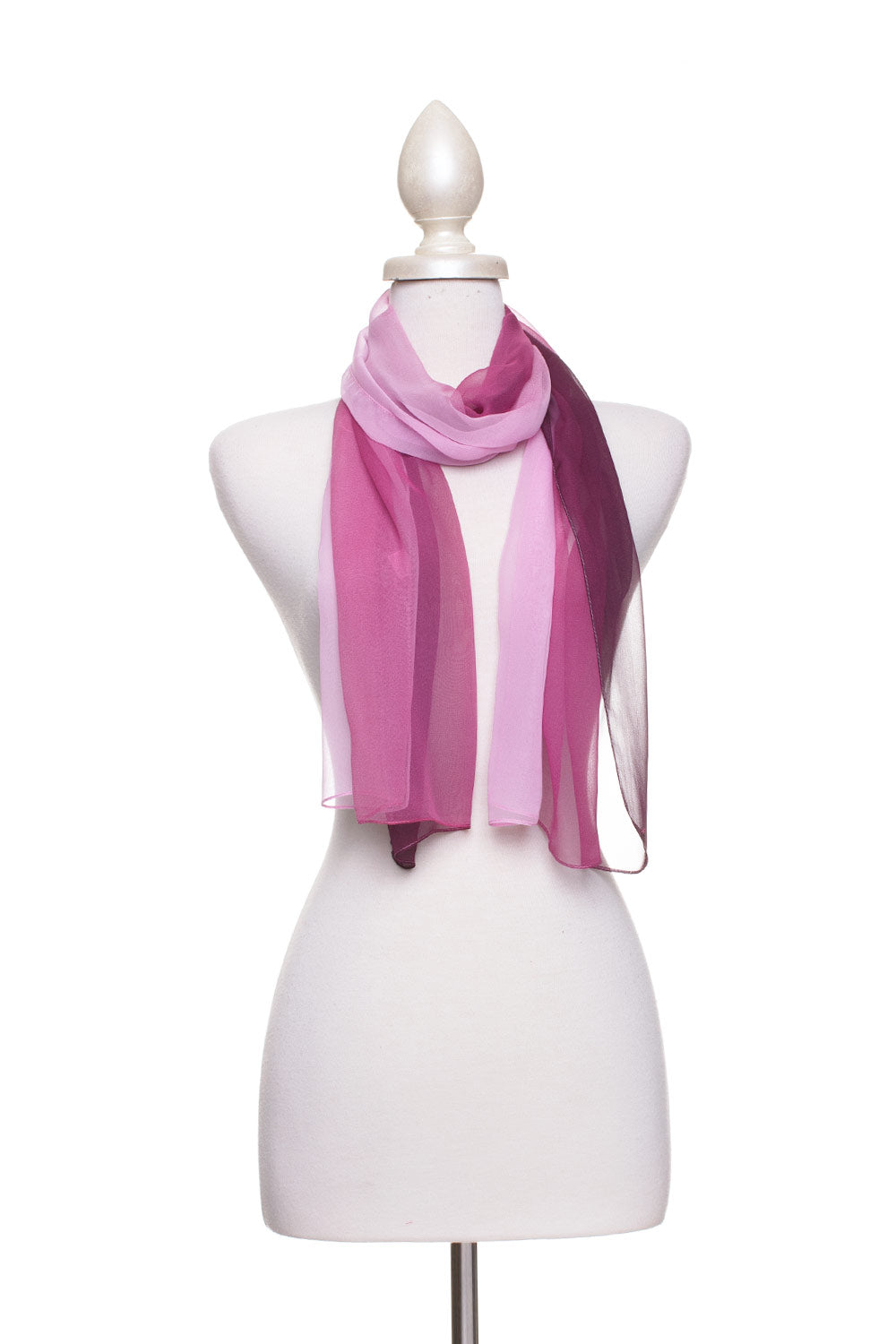 Type 2 Plum to Purple Scarf