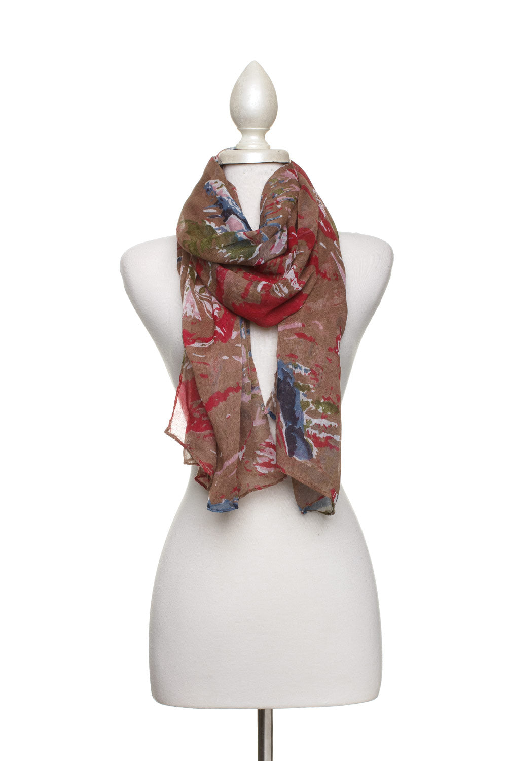 Type 2 Abstract Art Scarf