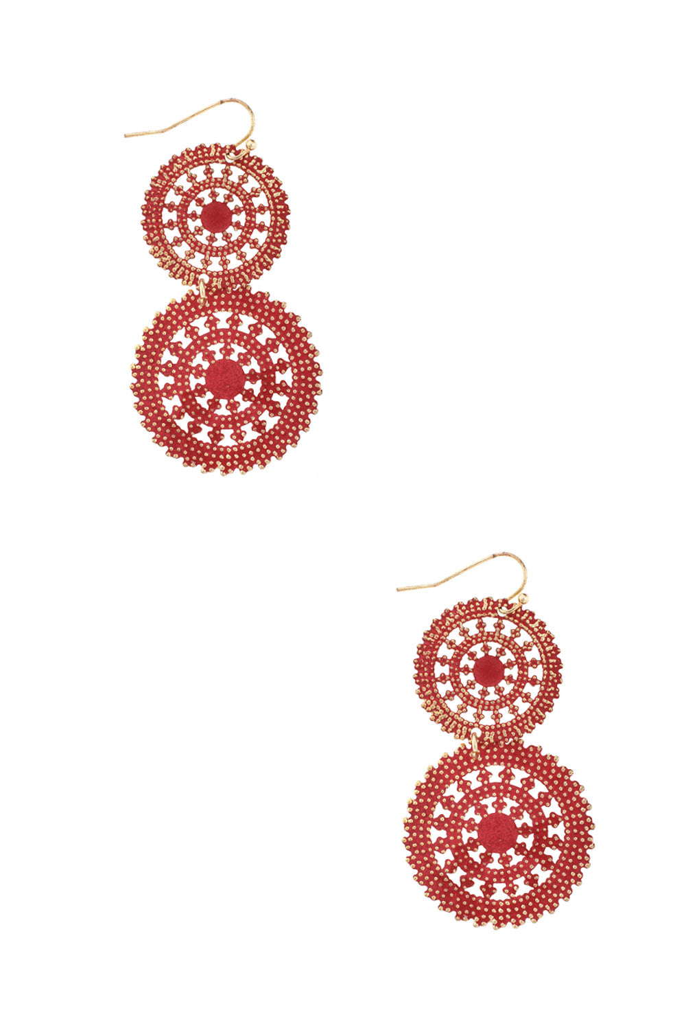 Type 1 Double Ferris Wheel Earrings