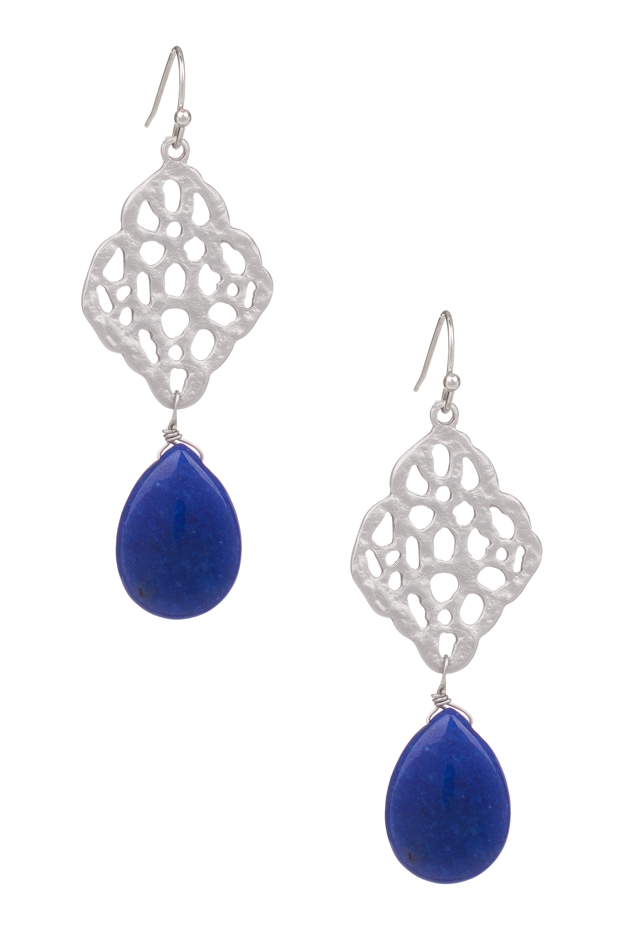 Type 2 Cool Cobalt Earrings