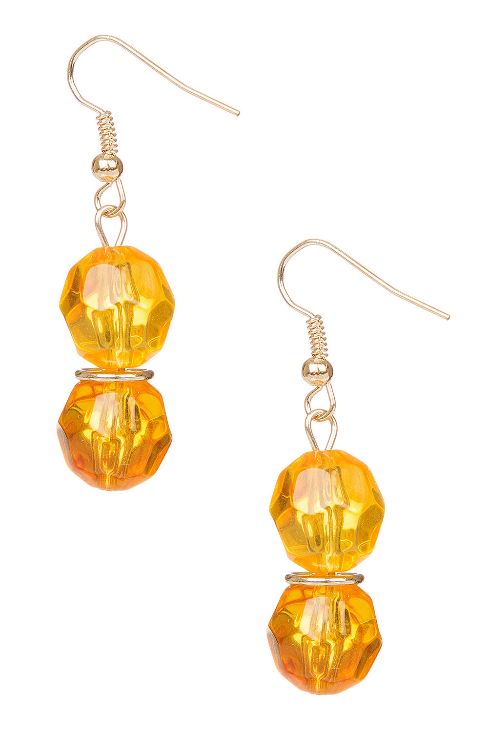 Type 3 Ample Amber Earrings